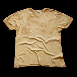 T-shirt couleurs tétons teinture naturelle