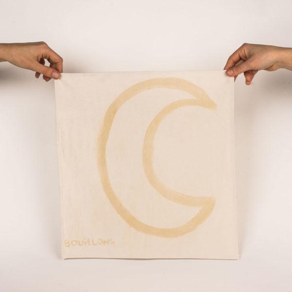 serviette de table lune