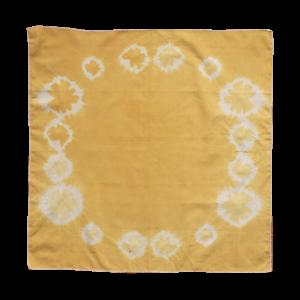 furoshiki jaune cycle lunaire
